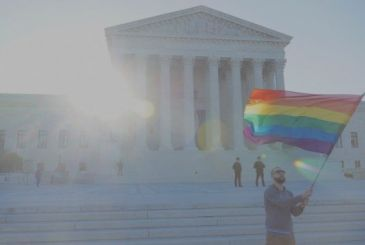 Apple and other companies tech support gay rights in a new cause in the USA