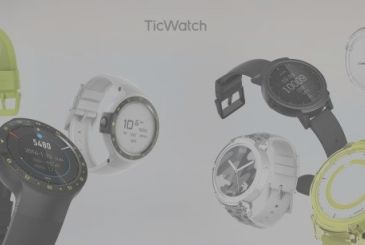 Mobvoi launches in Italy Ticwatch Express and Ticwatch Sport