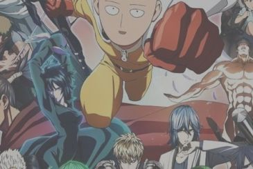 One-Punch Man: new illustration by Yusuke Murata on the leading characters of the manga
