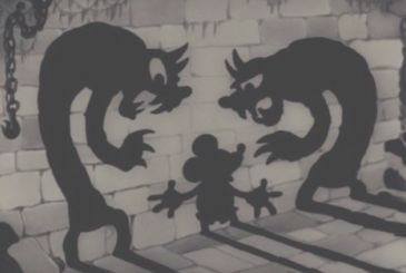 """Mickey mouse and the mad scientist, the short """"horror"""" of 1933 prohibited in the cinema"""