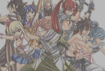 Fairy Tail, here is the cover of the 63rd and latest volume of the manga