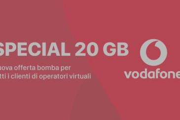Get the Vodafone Special 20 GB for only 10€ every 4 weeks
