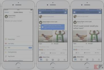 Surveys Facebook: you answer with GIFS!