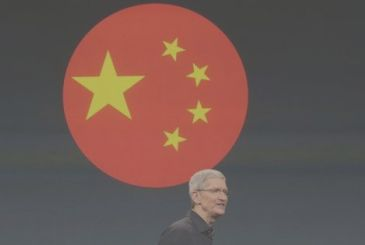 Apple grows (slightly) also in China