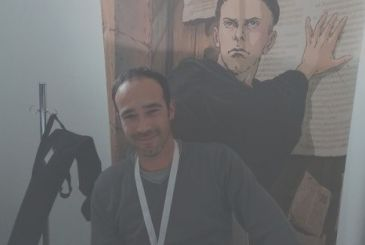 Philip Notes: interview with the designer of martin Luther (Mondadori Comics) – Lucca Comics & Games 2017