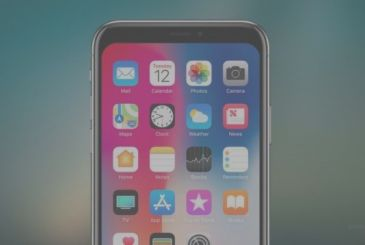 Hide the notch of the iPhone X thanks to a wallpaper and an app