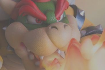Super Mario Bros.: two new figures Bowser
