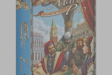 "Z-Man announces the expansion of ""On the trail of Marco Polo: Agents of Venice!!!"