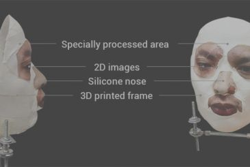 Face ID for iPhone X bypassed by a mask, artificial