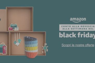 Amazon presents the details of the edition 2017 of Black Friday: more than 15,000 products from 20% to 40% discount