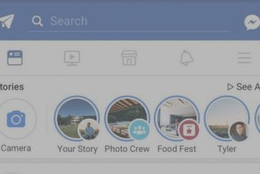Facebook active the Stories in the Groups and in the Events