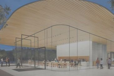 Opened the Visitor Center of the Apple Park