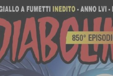 Diabolik is celebrating 850 numbers with a special story on newsstands in December