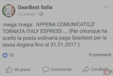 The Italy Express on Gearbest is back!