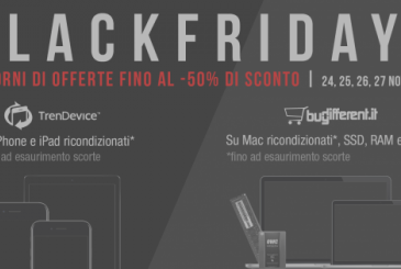 Started 4 days BlackFridays TrenDevice and BuyDifferent: we expect super deals on iPhone, iPad and Mac Refurbished