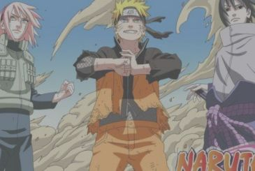 Naruto: recreates a cover, but with adult characters