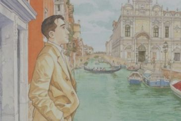 Rizzoli Lizard: available Venice by Jiro Taniguchi