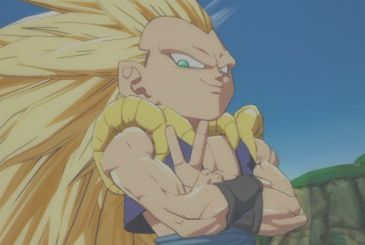 Dragon Ball FighterZ: references Gotenks Super Saiyan 3 in the manga and the anime