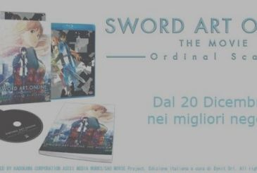 Sword Art Online The Movie – Ordinal Scales, the details of the edition home video Italian