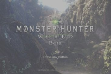 Monster Hunter World: details on the beta, the images and a new trailer