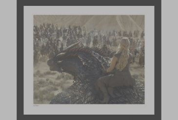 Game of Thrones: sales of the first collection of official photographs of the show!