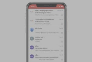 Gmail update: support for the iPhone X to and for the account of third parties