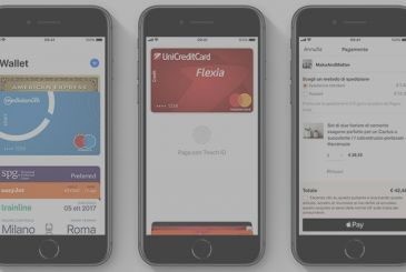 Apple Pay: here comes the support for the BBC and Nexi (CartaSi)
