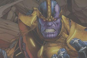 On Thanos #14 the Titan Crazy is challenged by [SPOILER]