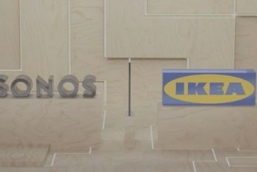 A collaboration between Sonos and IKEA: controls integrated into the furniture