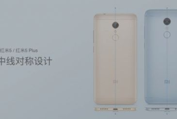 Xiaomi Redmi 5 and Redmi 5 Plus officially presented to the public