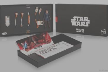 Star Wars Special Cinema Box: on Amazon a kit that is exclusive to the release of The Last Jedi