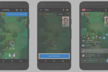 Facebook Messenger, inbox support streaming, and live chat for the games