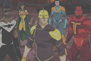 Freedom Fighters: The Ray – The animated series occurs before Crisis on Earth-X