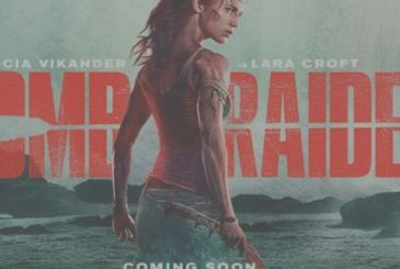 Tomb Raider: Lara Croft beautiful and wounded in the new poster of the film