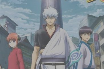 Gintama, unveiled the date of the departure of saga final in the animated series