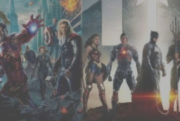 Justice League, the cast challenge the Avengers in the ring WWE