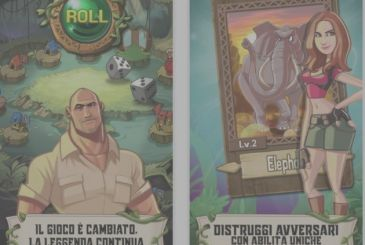 The official game of the movie Jumanji comes to the iPhone