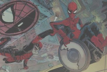 Spider-Man/Deadpool #26 here is Old Man Parker Vs Old Man Wilson!