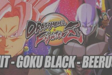 Dragon Ball FighterZ: unveiled the first gameplay with the Hit, Beerus and Black Goku and music taken from the animated series