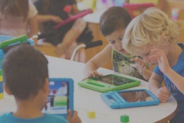 Study in UK: to limit the use of electronic devices children are not serving