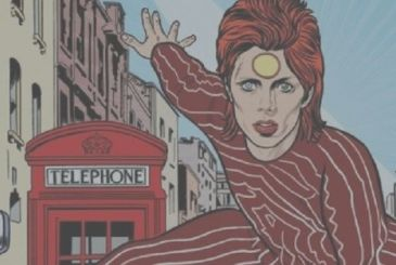 David Bowie: in the arrival, a graphic novel drawn by Mike Allred