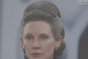 Star Wars: The Last Jedi – the figures of Leia from Hot Toys