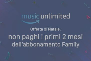 Amazon Music Unlimited: new promotion that offers 2 months FREE for the subscription Family