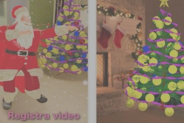 Christmas AR-Tree, the augmented reality at the service of Christmas