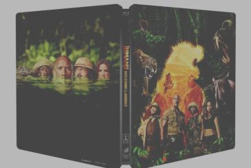 Jumanji: Welcome to the Jungle – On the Amazon Italy Steelbook of the film!