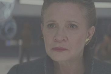 Carrie Fisher – actress a year after his death