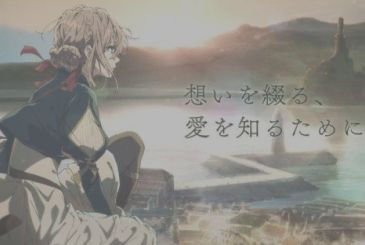 The anime series Violet Evergarden coming to Netflix Italy