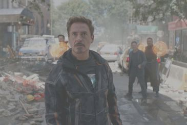 Avengers: Infinity War, a new photo with a preooccupato Tony Stark