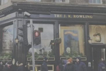 J. K. Rowling – the pub, the Conan Doyle renamed to his name
