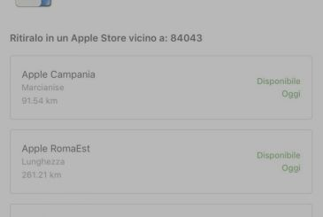 IPhone X available for immediate collection in all of Italy